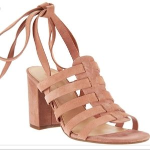 Marc Fisher Pink Phoebe Fisherman Sandal Size 7.5